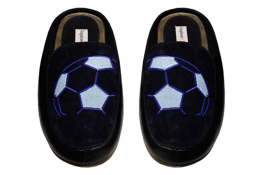 "Men's slippers ""Football"" 91402"
