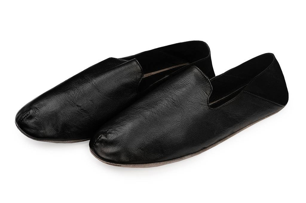 Men's slippers with a bag 91410