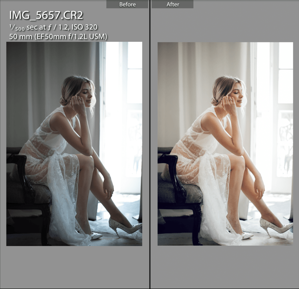 Odessa Wedding - 1 COPPER Skin Lightroom Preset
