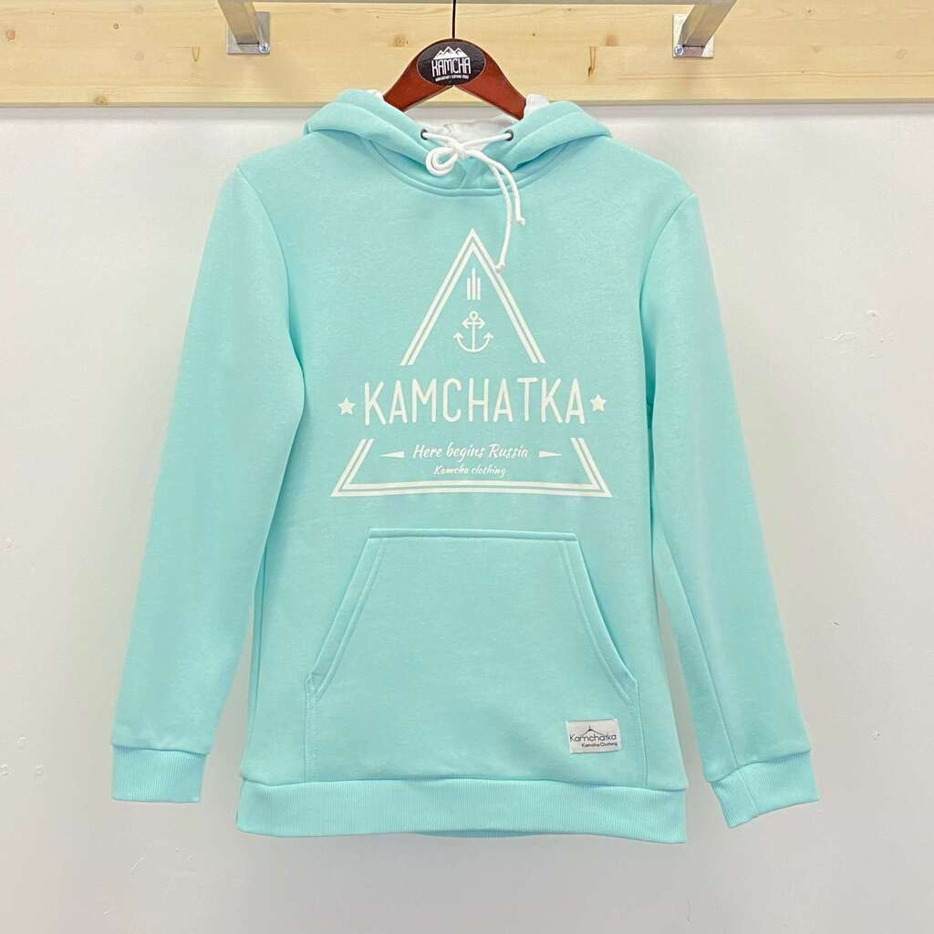 Худи Kamcha Clothing Triangle unisex с начесом мята