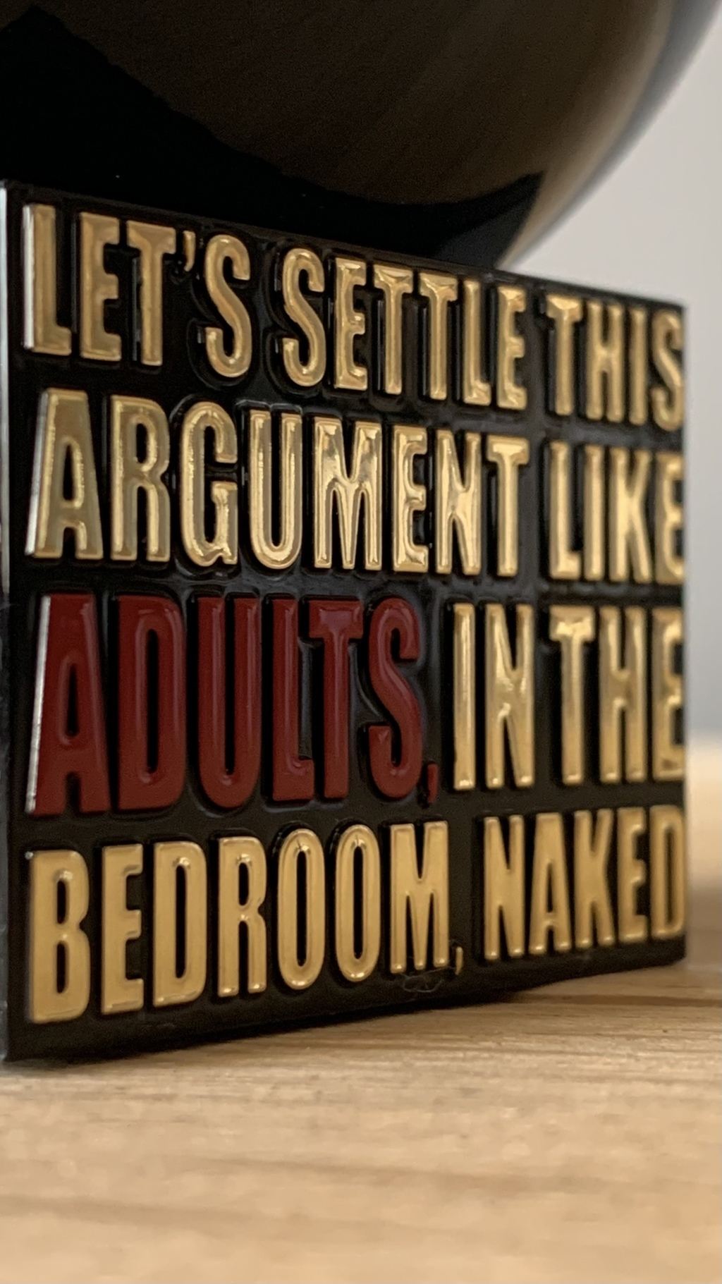Let's Settle This Argument Like Adults, In The Bedroom, Naked By Kilian