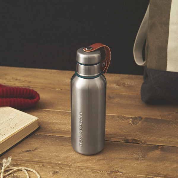 Термо-Фляга Black+Blum Water Bottle 500/750 мл бирюзовая