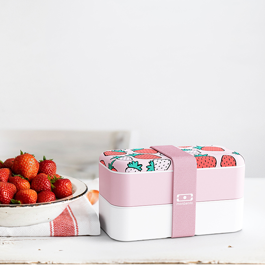 Ланч-бокс Monbento Original strawberry