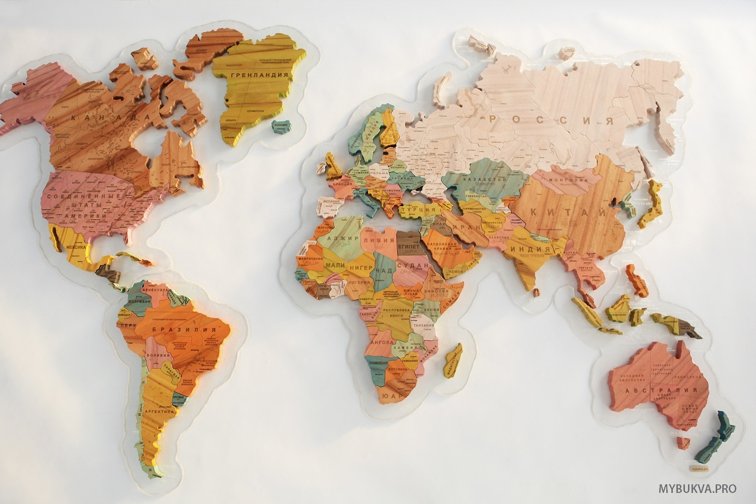 Maps Color Wooden World Map Buy From E Shop