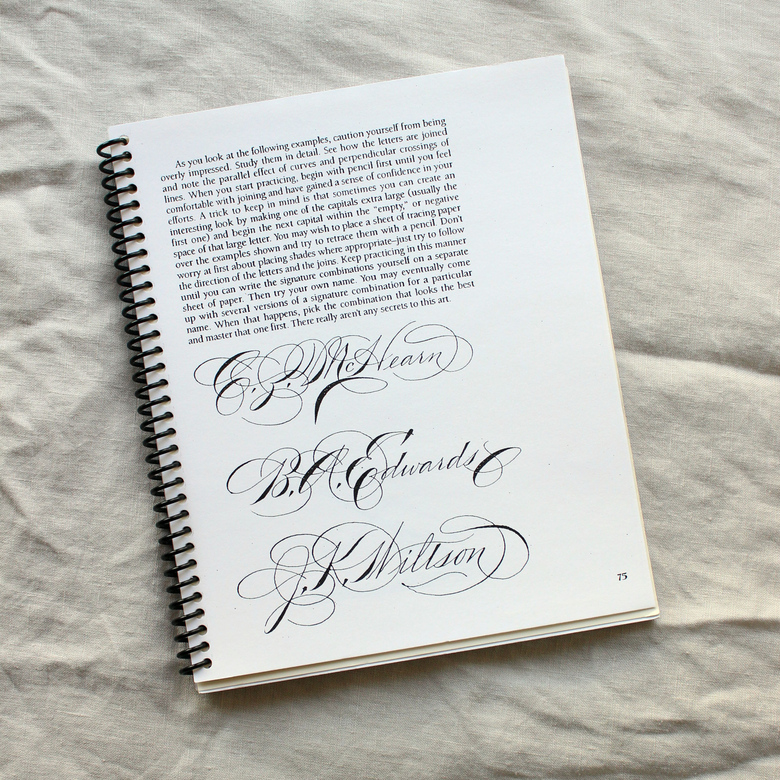 Learning to Write Spencerian Script, Learning to Write Spencerian Script Michael Sull, Майкл Салл книги, Blue Pumpkin shop