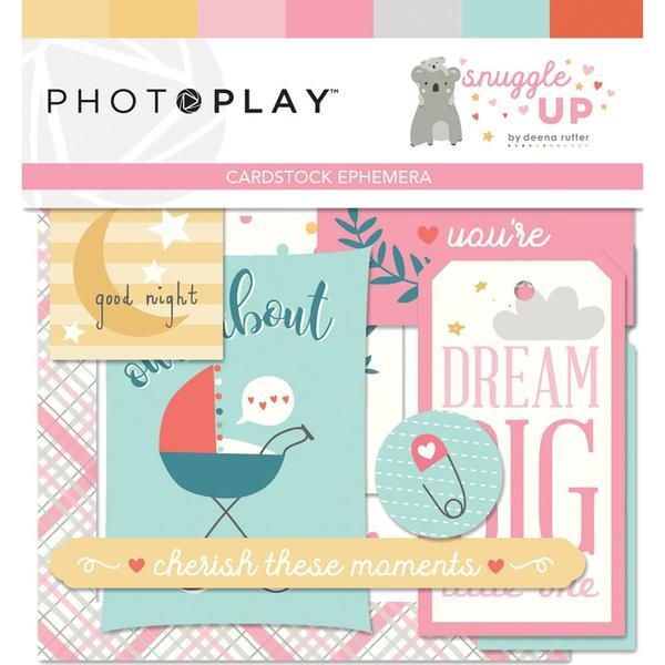 Высечки Snuggle Up Girl, Photoplay Paper