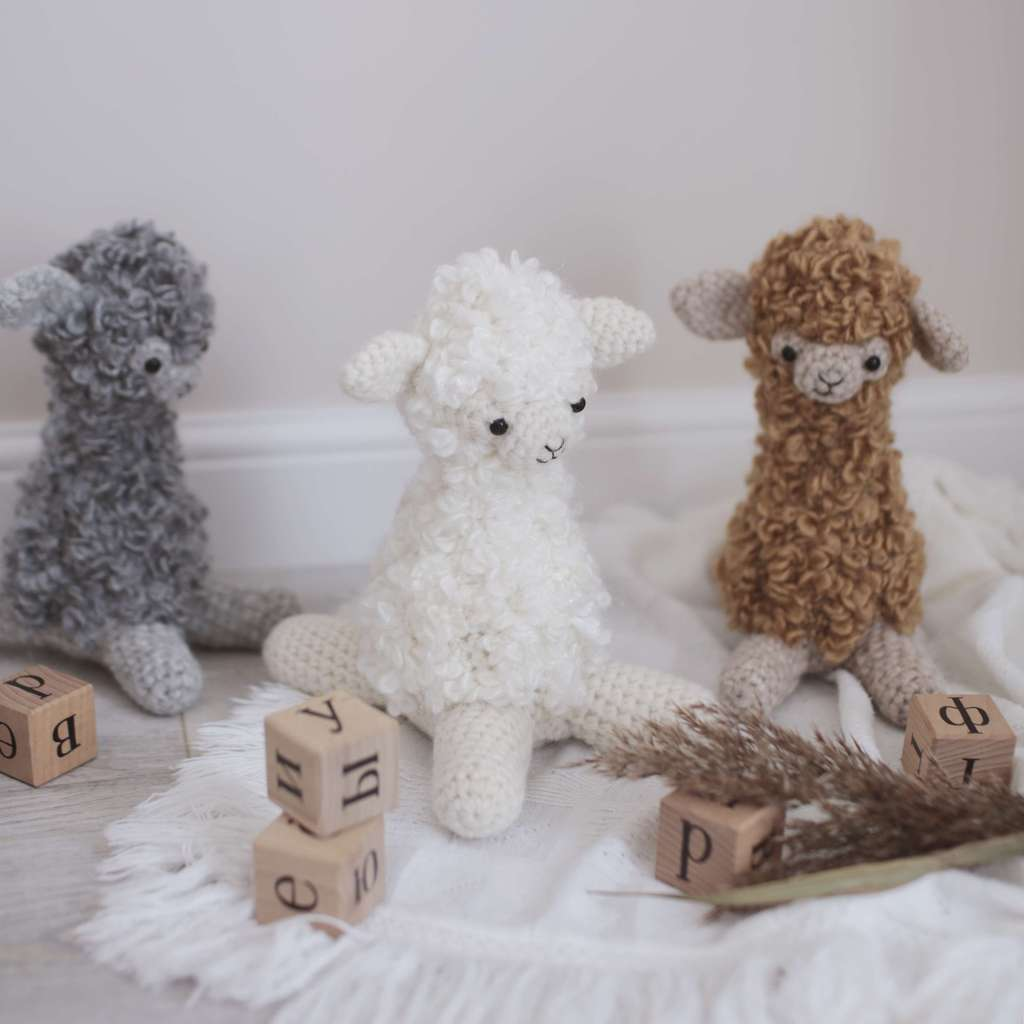 Alpaca New - White