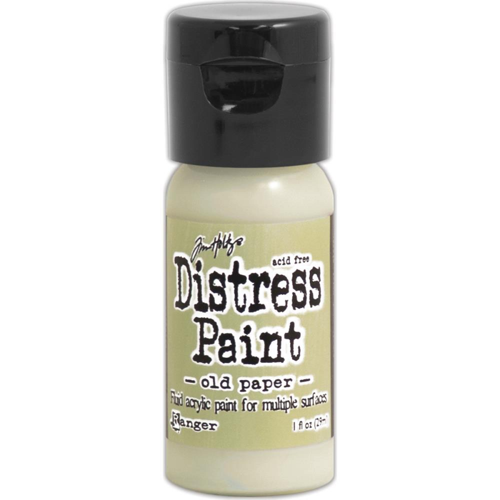 Краска Tim Holtz Distress Paint Flip Top 1oz Old Paper