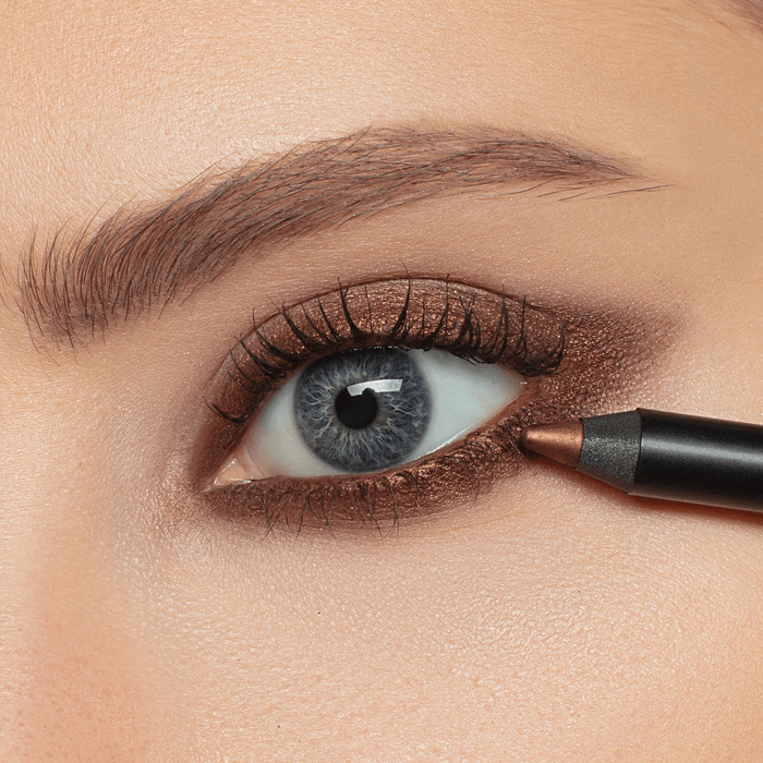 Romanovamakeup  Карандаш для глаз Sexy Smoky Eye Pencil AMBER DUST