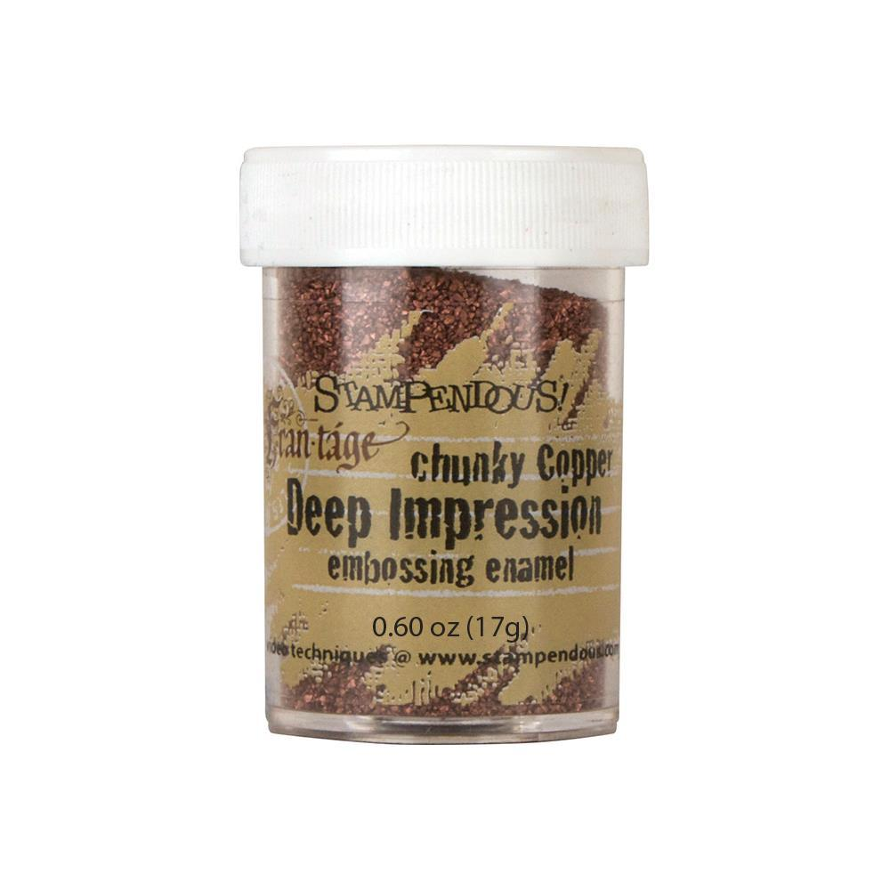 Пудра  для эмбоссинга Chunky Copper Stampendous Frantage Seasonings  0.63oz