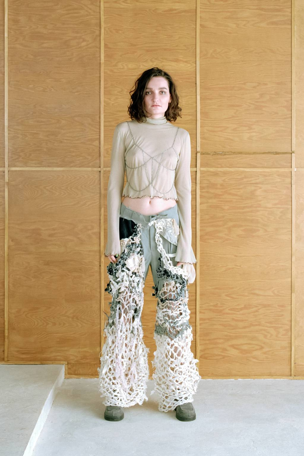 Heavyknit trousers