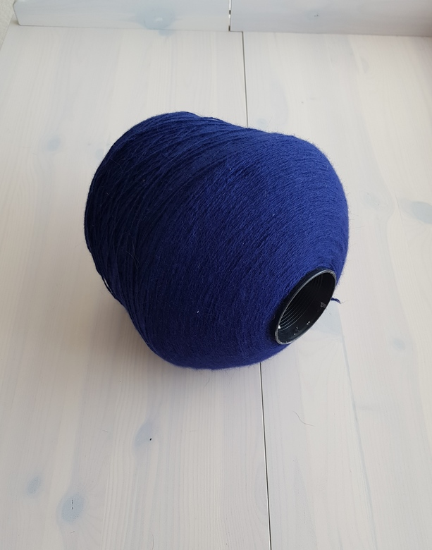 30% Angora Wool Dark Blue