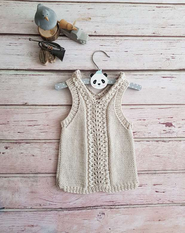 Top with pattern for Kids Cotton