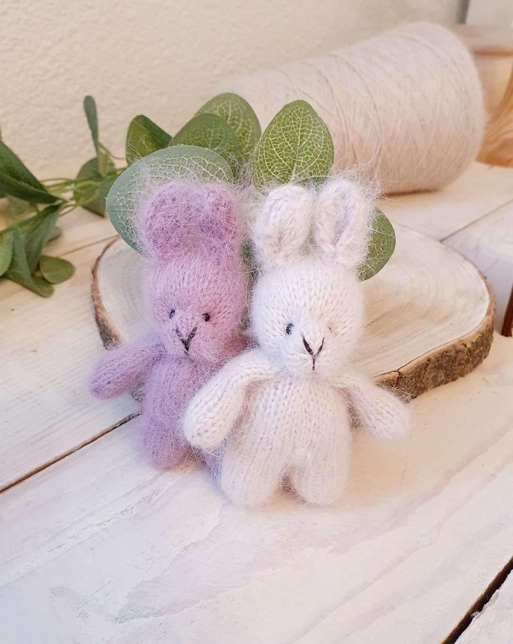Plush toy Bunny with standing ears 10cm