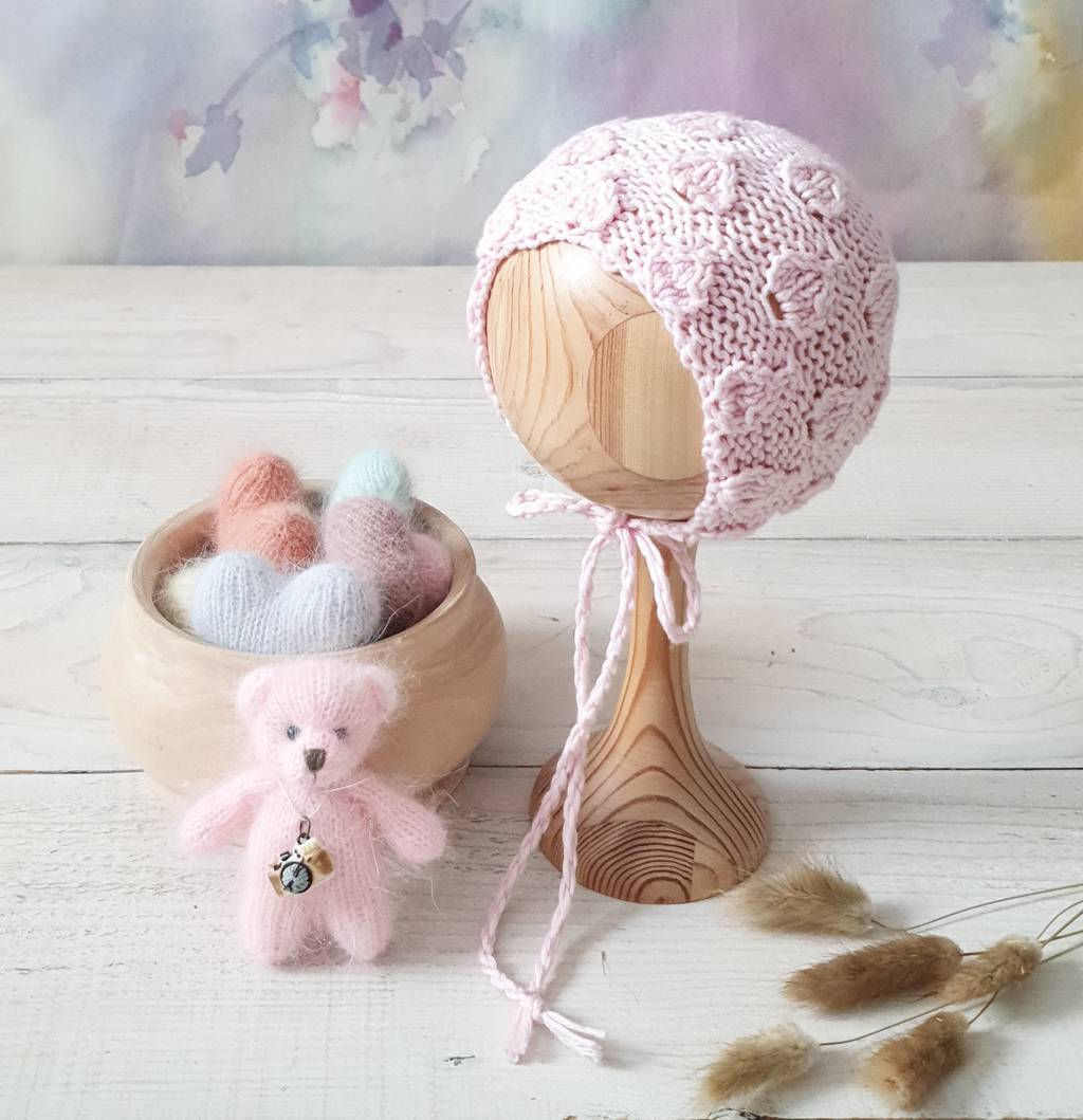 SET Hat with cotton and Toy