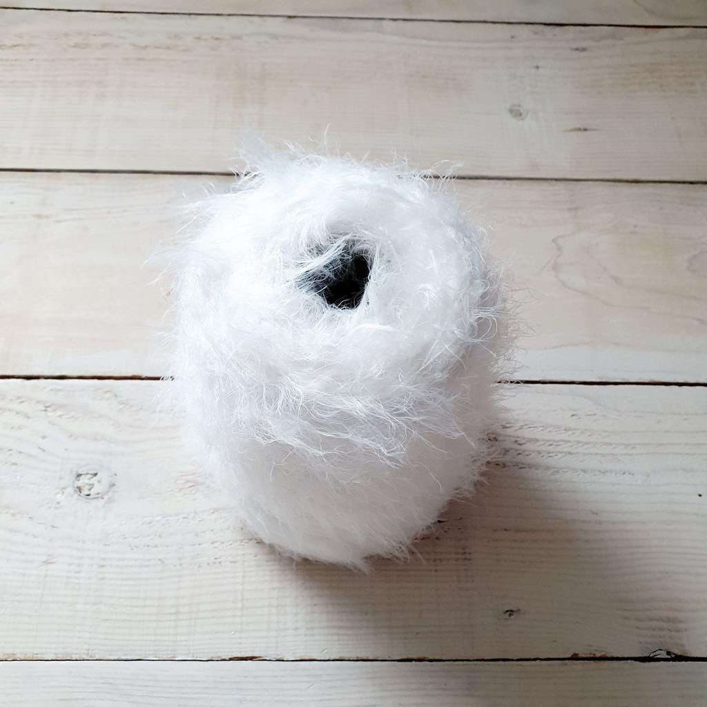 Nylon Wool 100% white