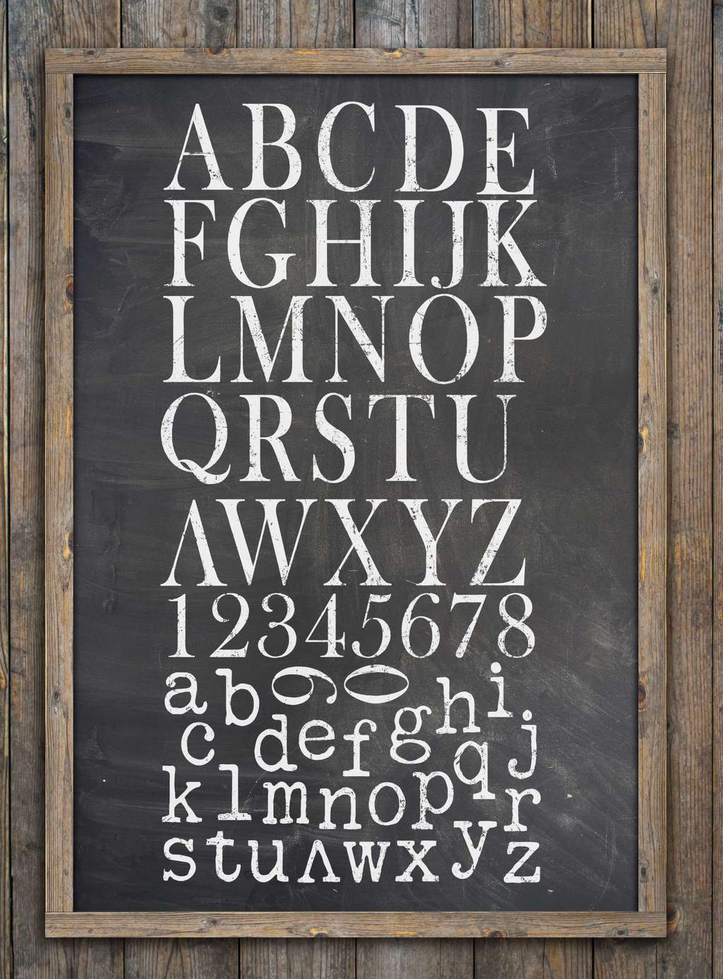Штамп 30*30см Typesetting  IOD Decor Stamp™