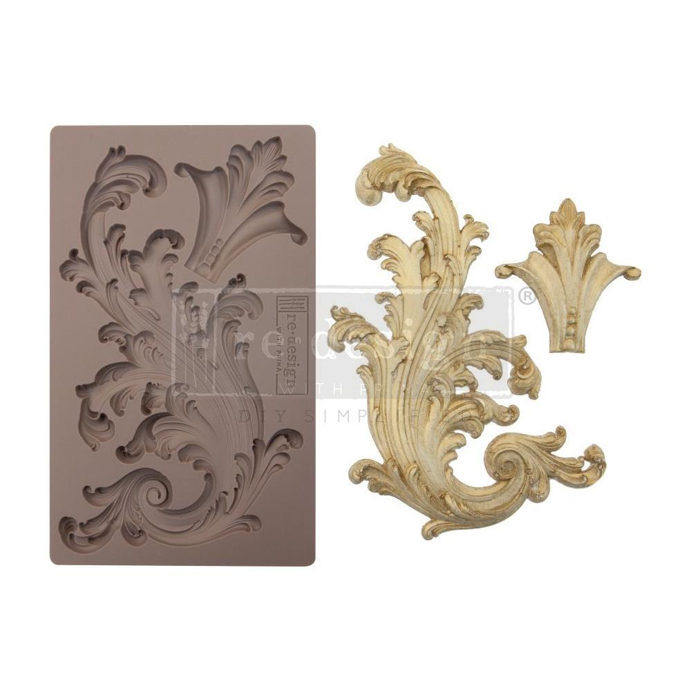 "Молд Portico Scroll 2 Prima Marketing Re-Design Mould 5""X8"""