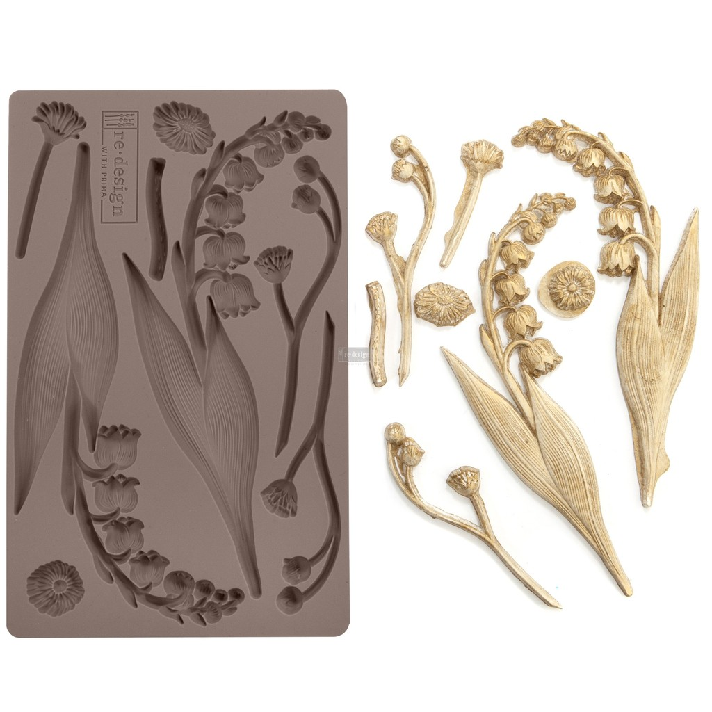 "Молд Bell Orchids Prima Marketing Re-Design Mould 5""X8""X8mm"