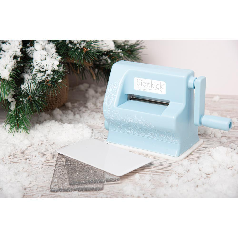 Мини машинка для вырубки Sizzix Sidekick Starter Kit Limited Edition Sky
