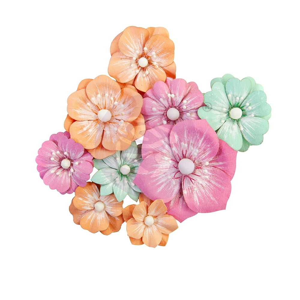 Цветы Big Waves/Surfboard Prima Marketing Mulberry Paper Flowers