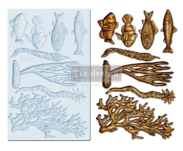 "Молд Coral Reef Prima Marketing Re-Design Mould 5""X8""X8mm"