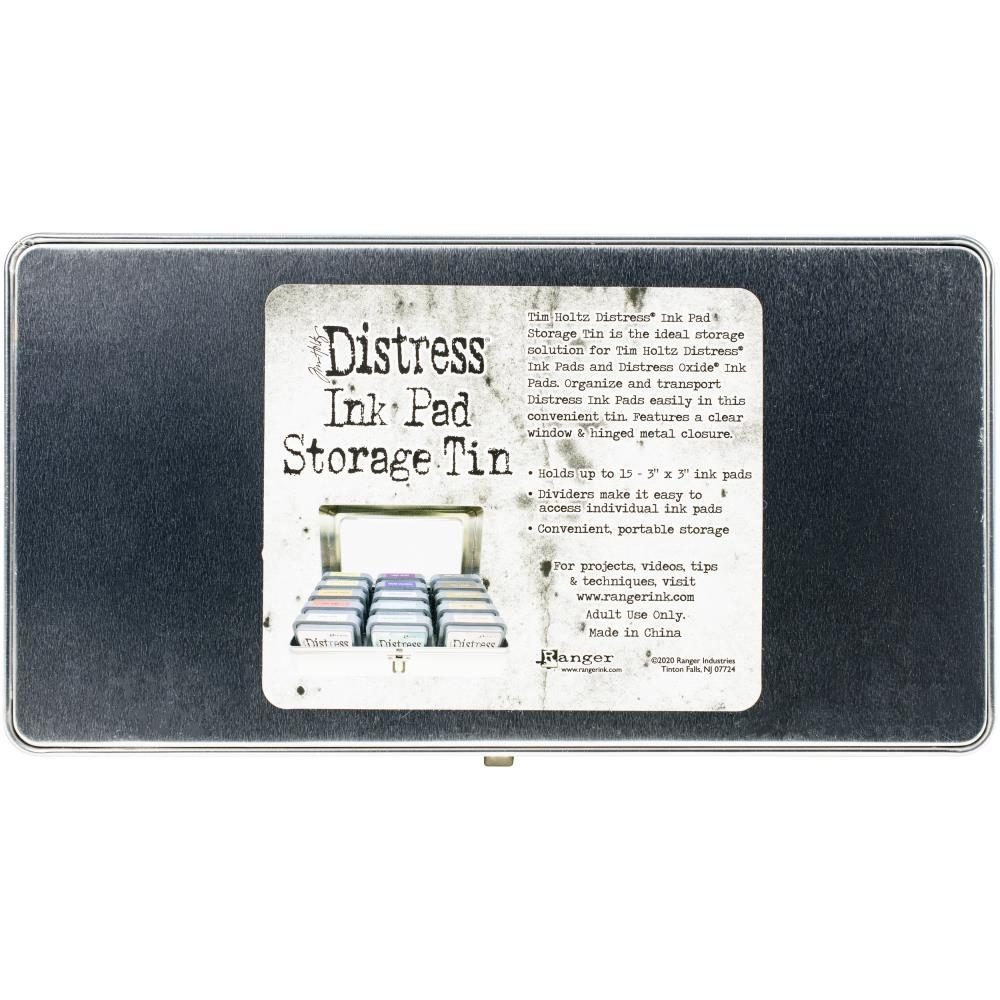 Контейнер для хранения чернильных подушечек Tim Holtz Distress Ink Pad Tin