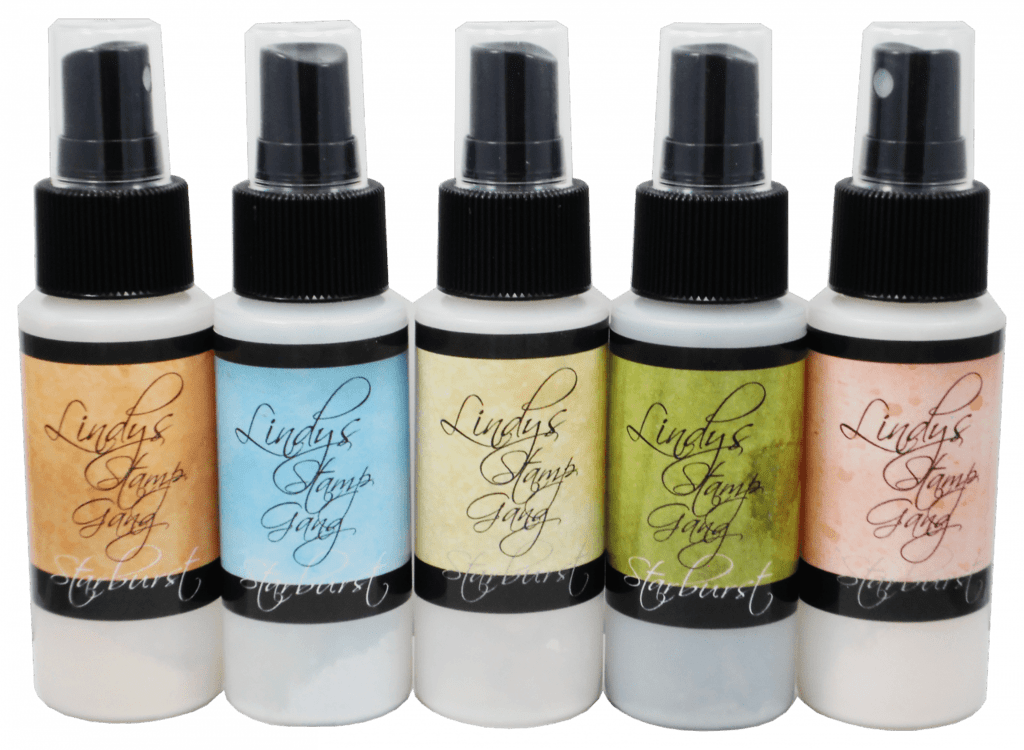 Набор спреев Drink Me Silly Shimmer Spray Set Lindy's Stamp Gang