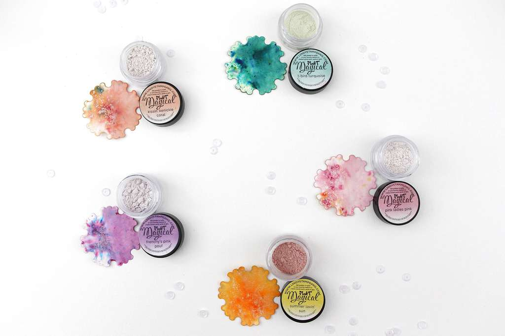 Набор пигментов Beauty School Dropout Flat Magical Set Lindy's Stamp Gang