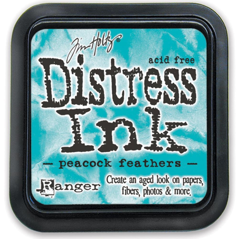 Чернила Peacock Feathers Tim Holtz Distress Ink Pad