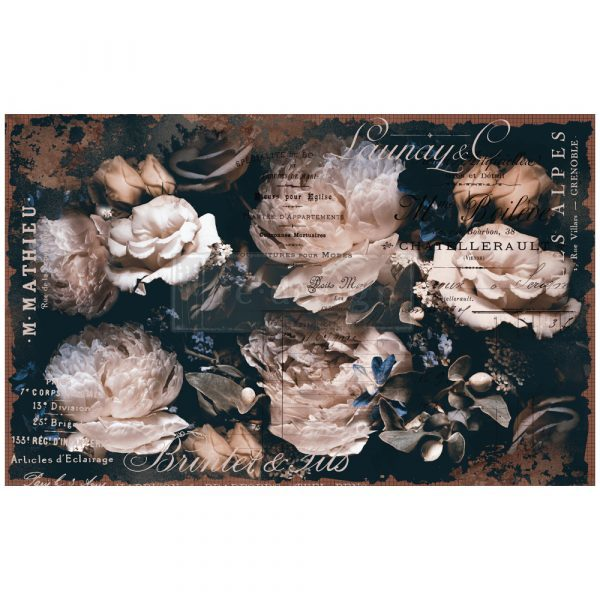 "Бумага тишью для декупажа Redesign Decoupage Decor Tissue Paper - Uniqua - 2 sheets 19"" x 30"""