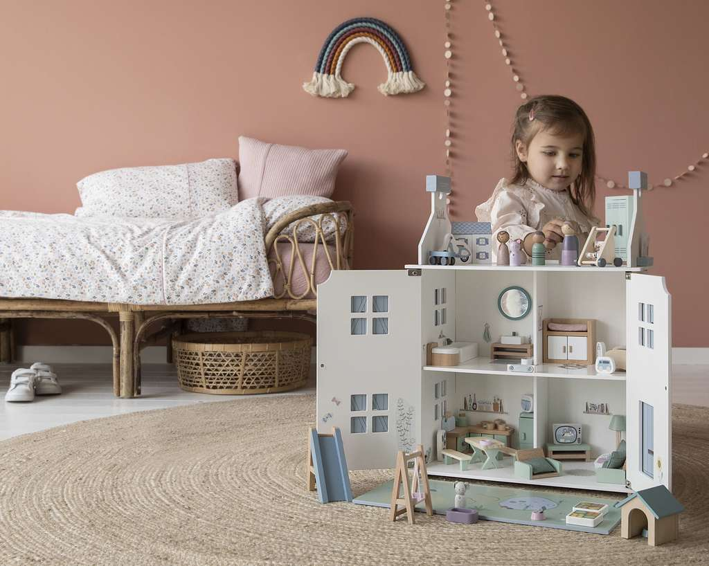 Doll's House Playset Children's room