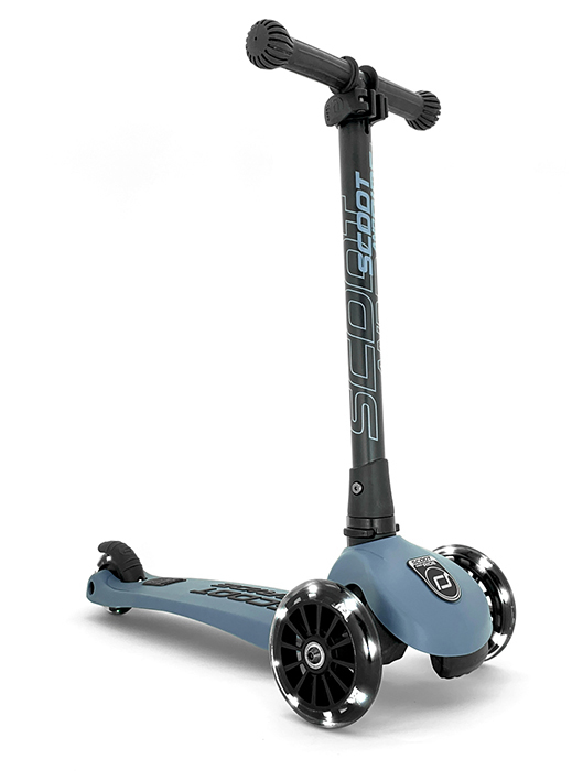STEEL SCOOTER LED 3-6 YEARS