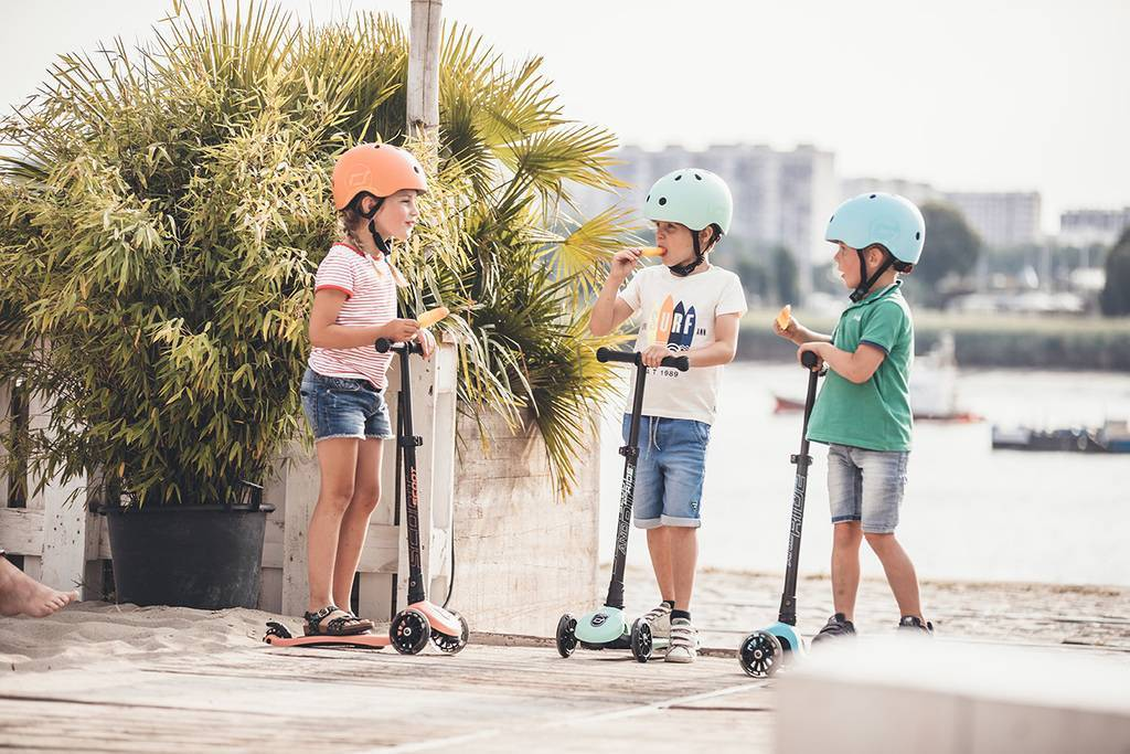 PEACH SCOOTER LED 3-6 YEARS