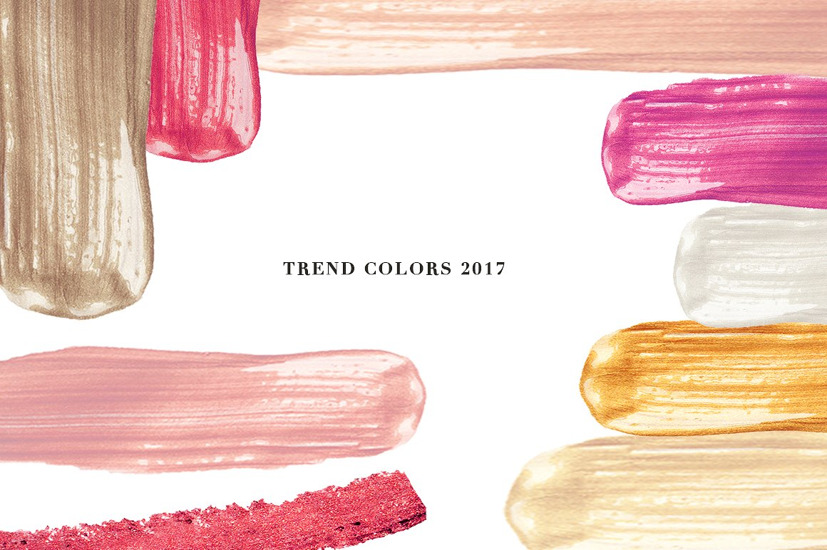 Vector Brush - Trend colors 10$