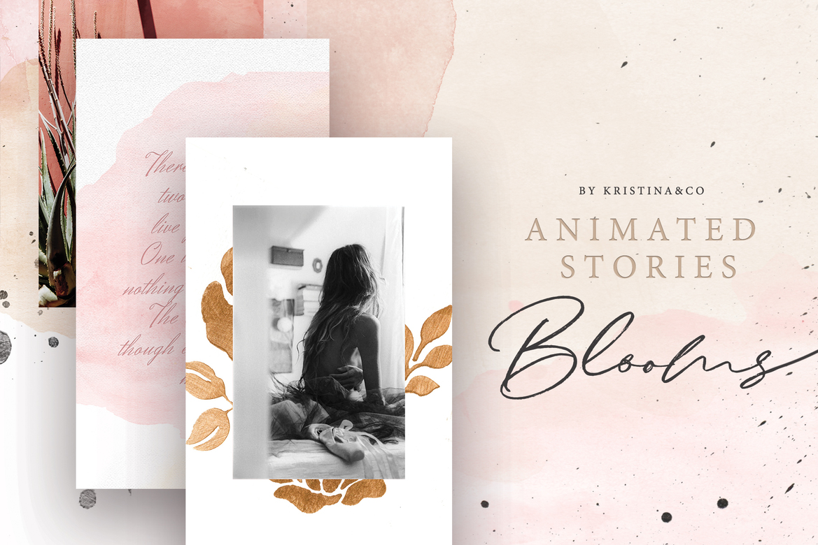 Animated Stories Blooms 26$