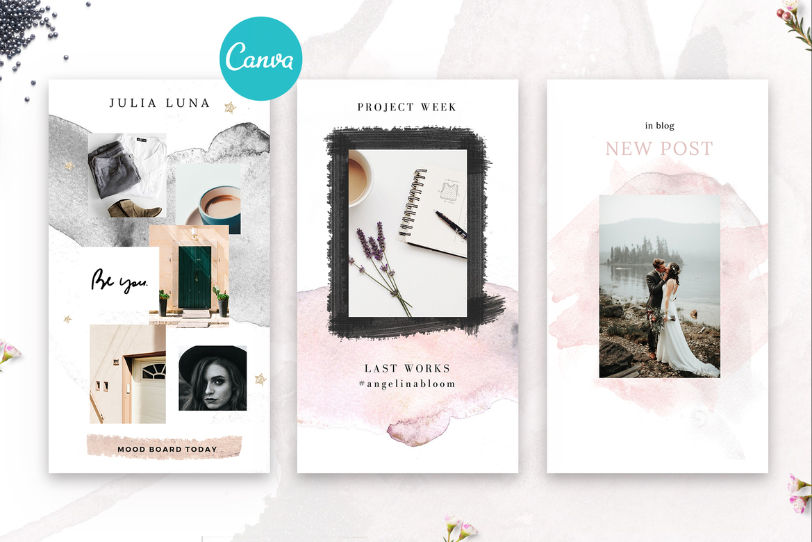 Canva Instagram Template 22$