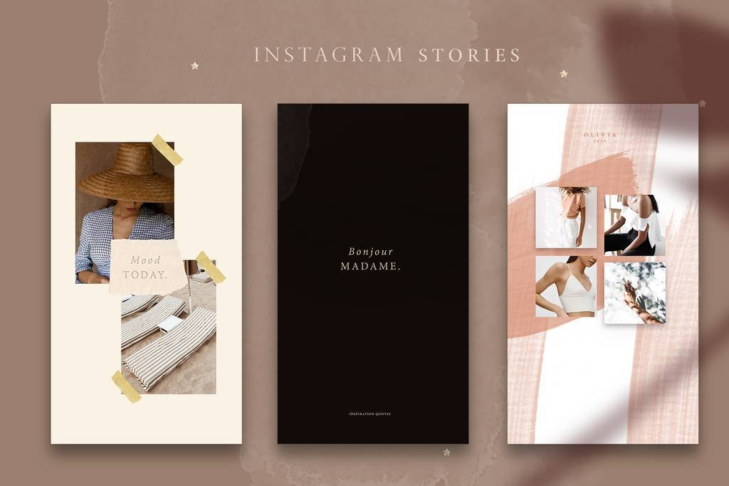 Modern Instagram Stories 19$