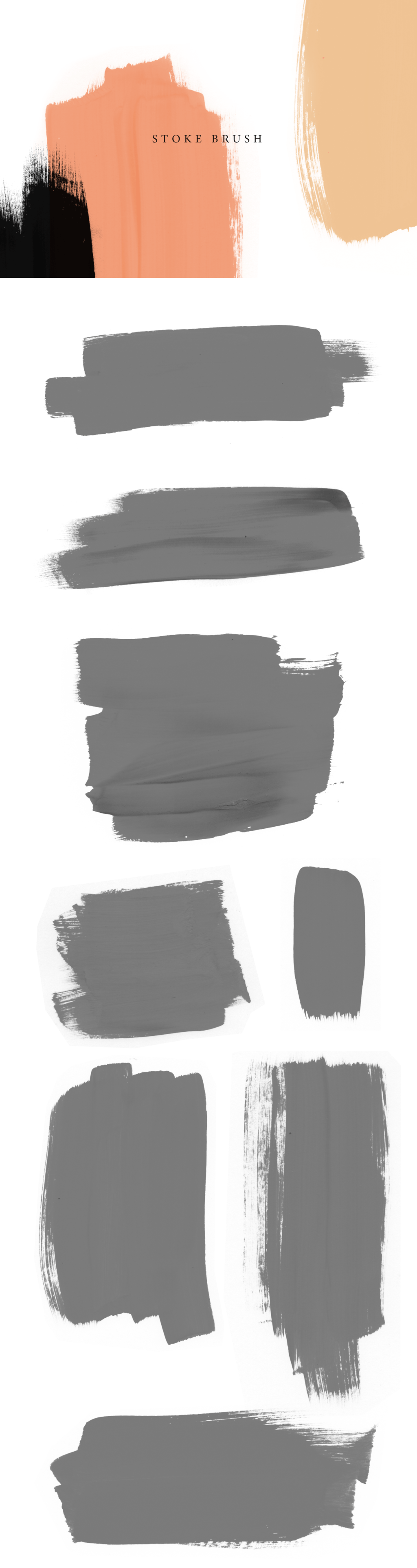 Abstract Brushes 12$