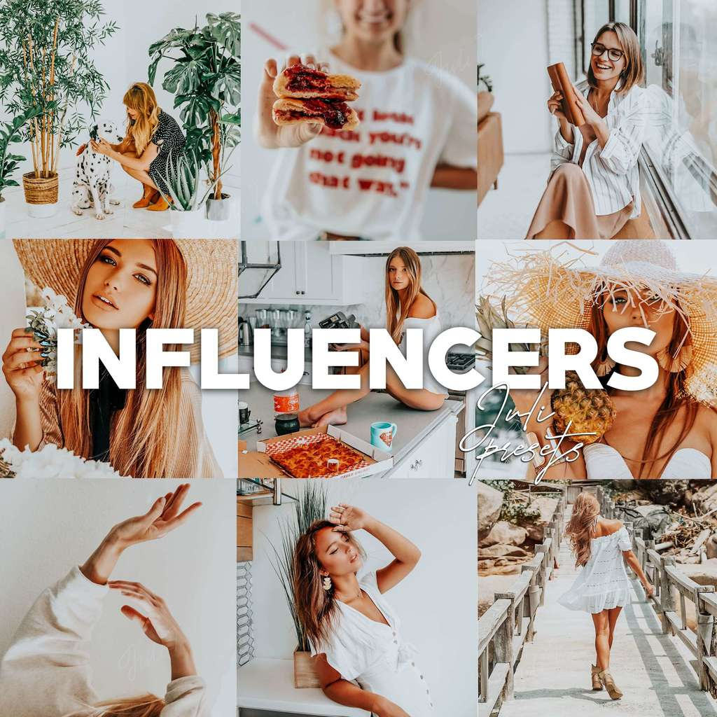 Presets INFLUENCERS
