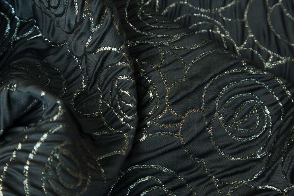 Armani Prive Black Jacquard