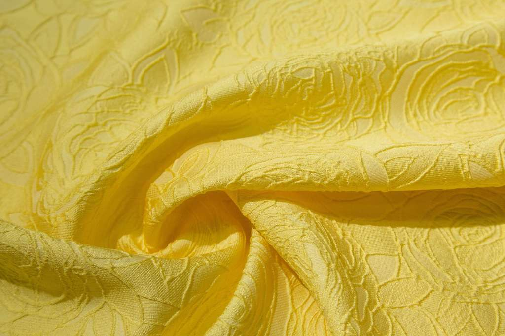 Dawn Floreale Yellow - Brocart