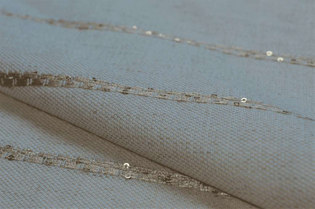 Balocco Bicolour Linen with sequins