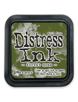 Tim Holtz Distress Ink Stamp Pad FOREST MOSS