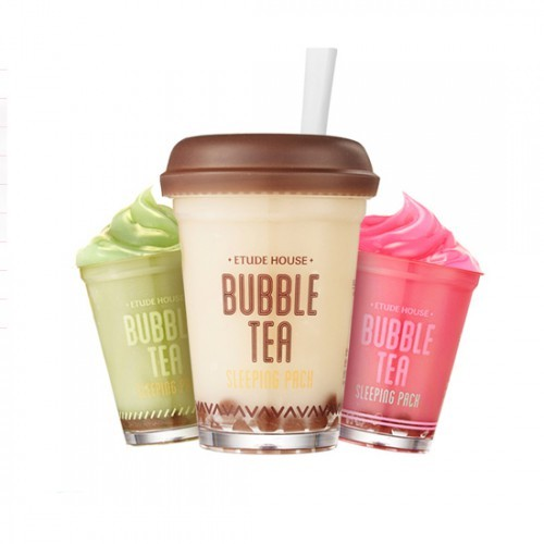 Маска ночная Bubble Tea Sleeping Pack