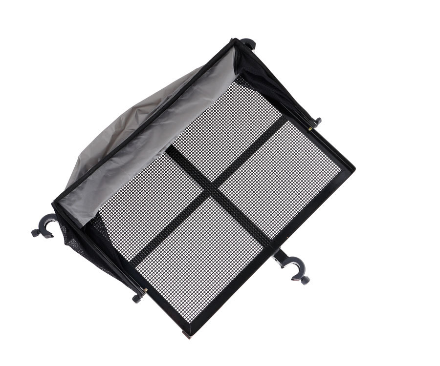 Flagman side tray with tent 670x510mm D36mm