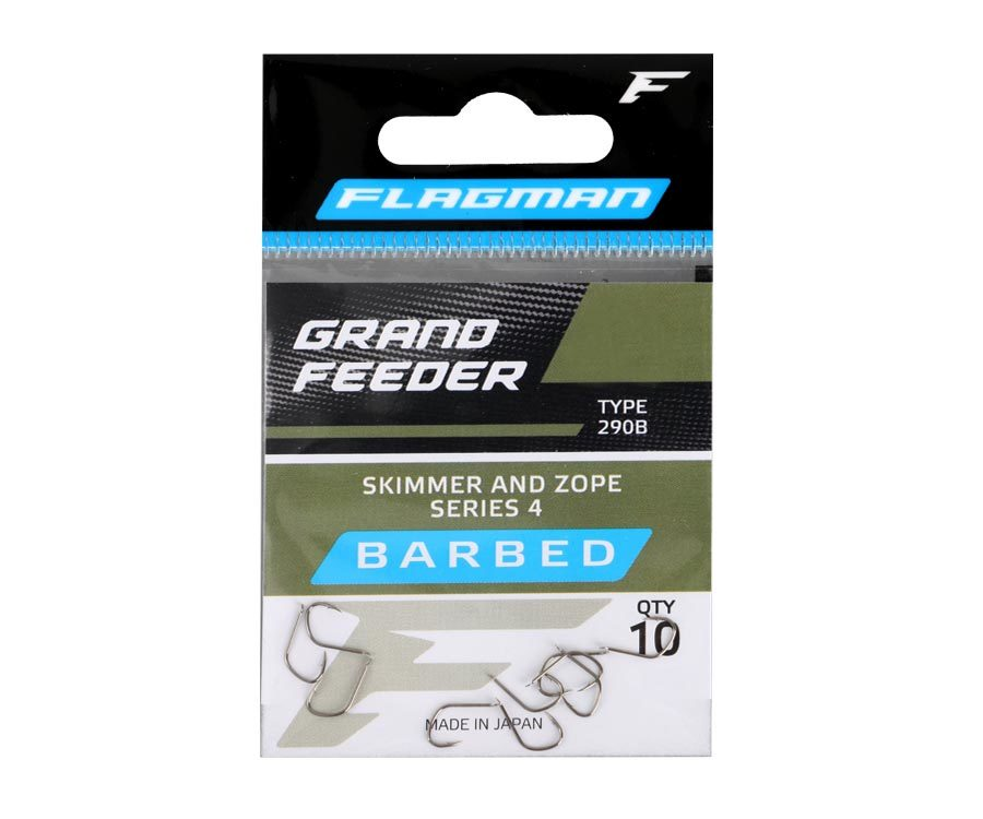Flagman Grand Feeder Skimmer and Zope Series 4 Hooks