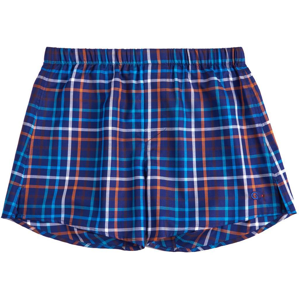 Боксеры G.LVOV Heavy Weight Scottish Tartan