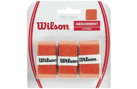 Обмотка Wilson Pro Soft Overgrip Orange