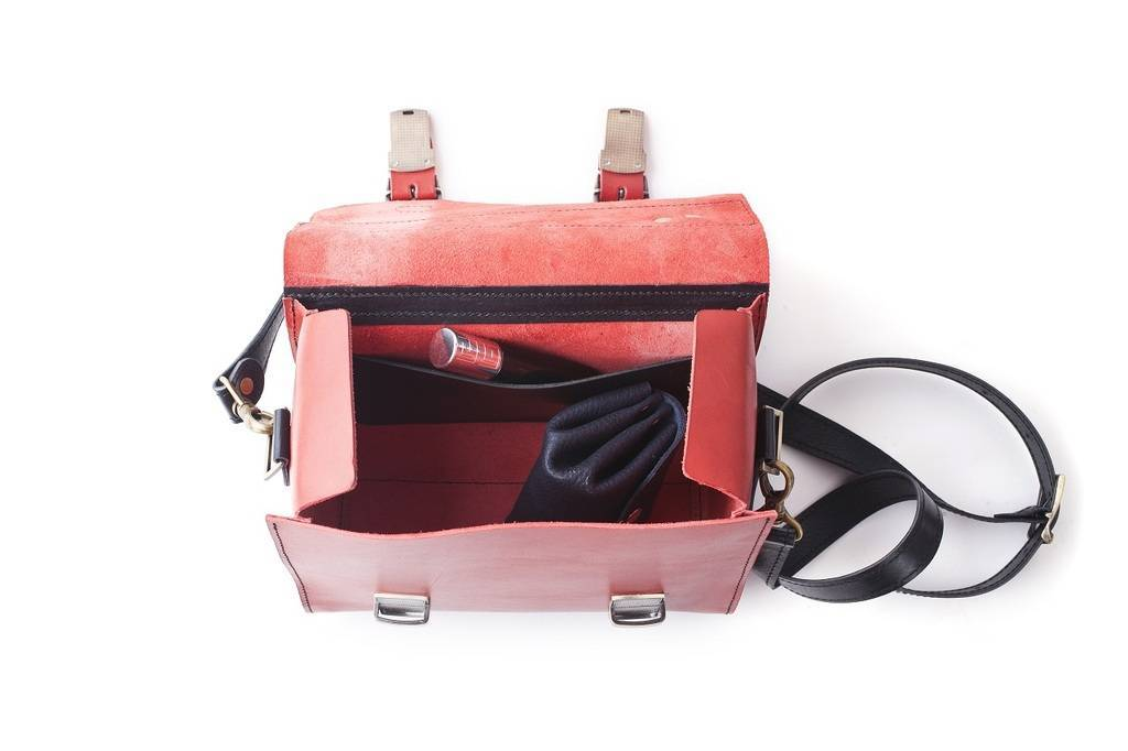 Сумка Shoulder bag Red-Black